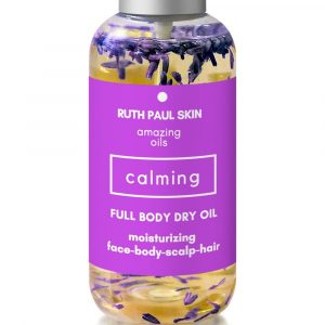 Full Body Oil Moisturizing Oil For Normal to Dry Skin Face Hair Cuticle Scalp Nails.