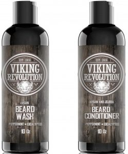 Viking Revolution Beard Wash & Beard Conditioner